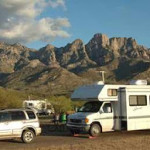 Backing up an RV