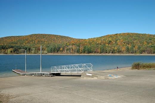 Boat Ramp 12 000 Acre Allegheny Reservoir