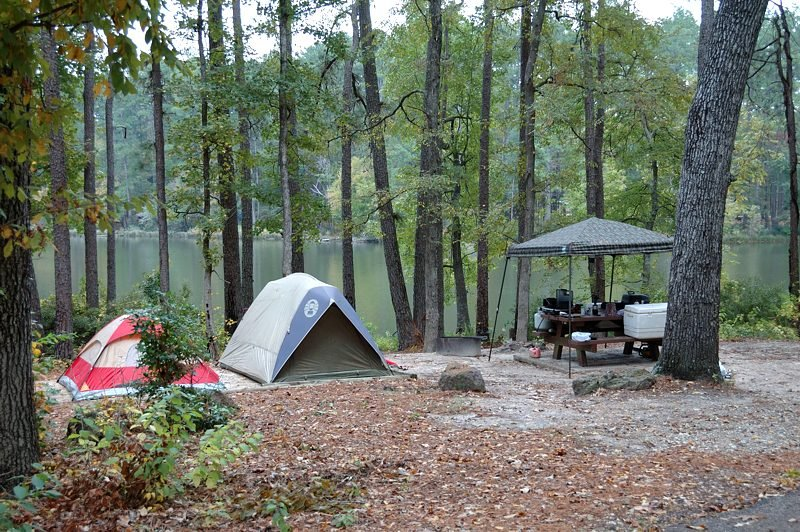 Ratcliff Lake campground - Davy Crockett National Forest ...