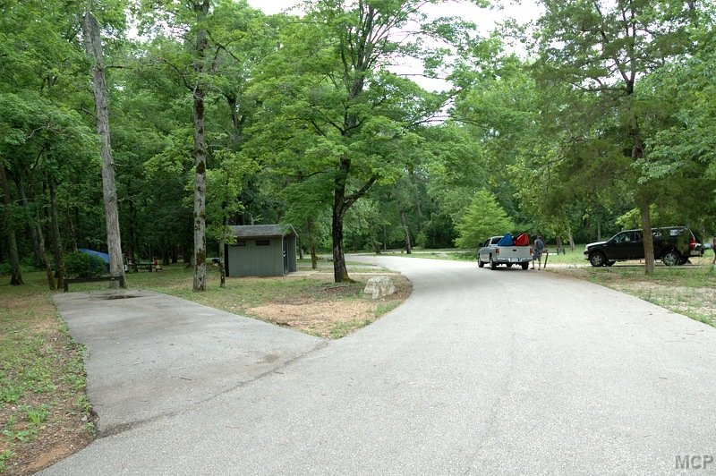 Red bluff campground mark twain national forest mo 2 campsite in lower loop plenty of room sciox Images