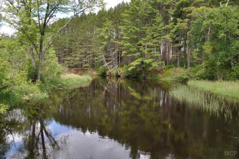 The Round Lake Logging Dam Interpretive Trail