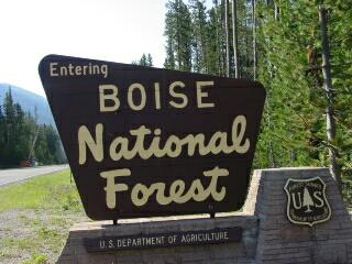Boise National Forest Campgrounds