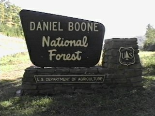 Daniel Boone National Forest Campgrounds