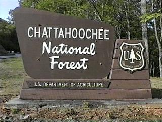 Chattahoochee National Forest Campgrounds - Us forest campgrounds map