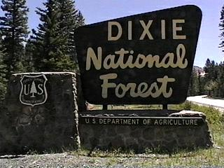 Dixie National Forest Campgrounds