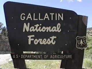 Gallatin National Forest Campgrounds - Us forest campgrounds map