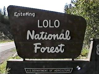 Lolo National Forest Campgrounds - Us forest campgrounds map