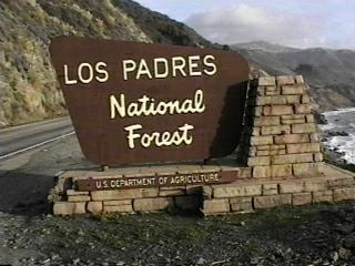 Los Padres National Forest Campgrounds - Us forest campgrounds map