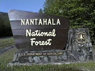 Nantahala National Forest Campgrounds - Us forest campgrounds map