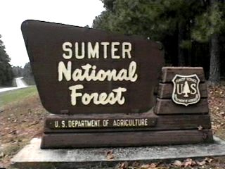 Sumter national forest campgrounds for Sumter national forest cabins