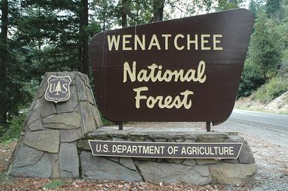 Wenatchee National Forest Campgrounds - Us forest campgrounds map